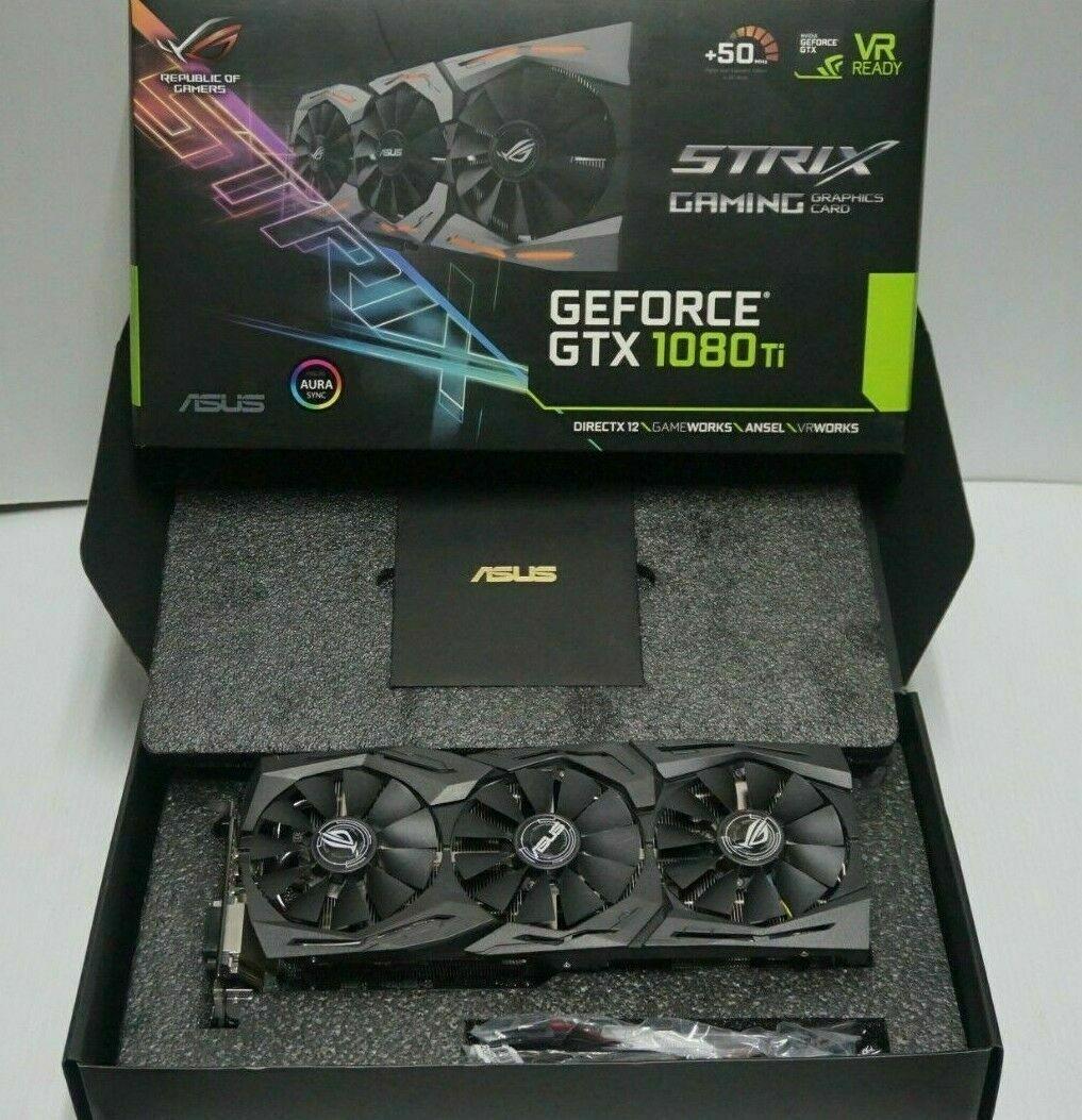 ASUS-GeForce-GTX-1080-Ti-11GB-GDDR5X-Graphics